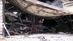 Fire that gutted garage deemed suspicious