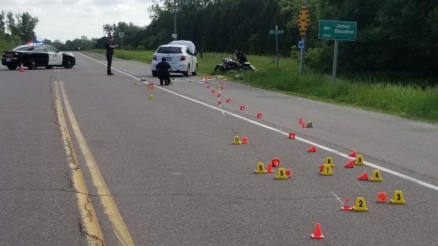 Wellington Road 124 crash