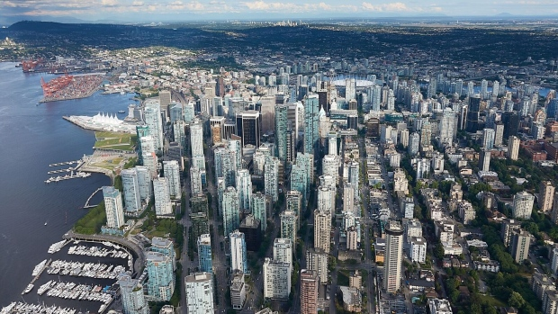 Photo by CTV Vancouver's Pete Cline in Chopper 9 on Monday, June 4, 2018.