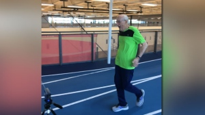 Spry 95-year-old sprinter seeks record