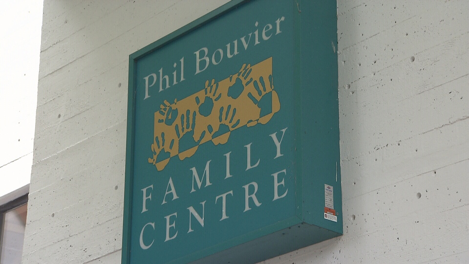 The exterior of Vancouver's Phil Bouvier Family Centre is seen in this image from June 2018.