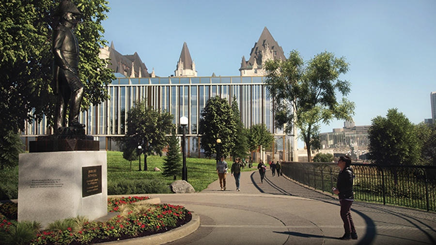 Chateau Laurier addition proposal