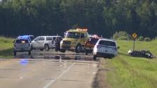 Extended: Five dead after crash near Edmonton