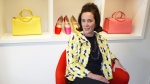 Designer Kate Spade during an interview in New York on May 13, 2004. (AP Photo/Bebeto Matthews)