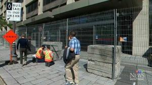 Security prep underway at G7 site