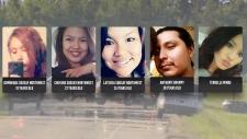 Victims of crash near Edmonton