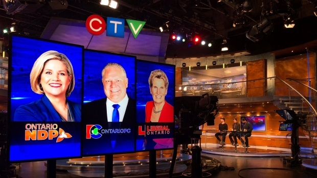 CTV News Toronto prepares for the election night special.