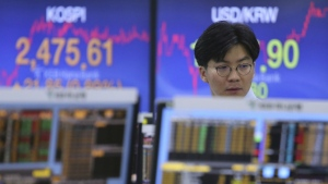 Asian stocks move higher after Wall Street gains