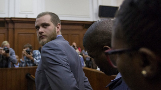 Family axe killer Henri van Breda given three life sentences