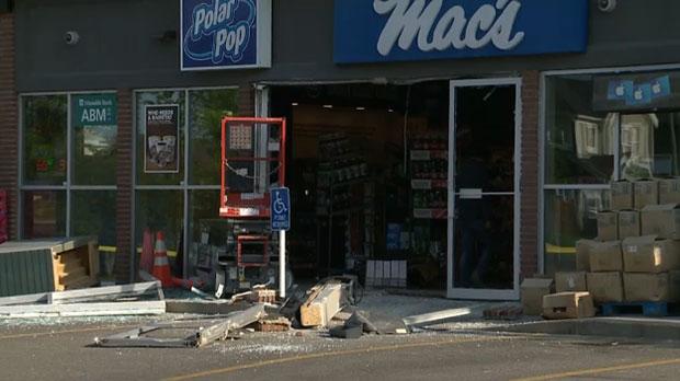ATM, ATM theft, stolen ATM, ESSO, gas station thef