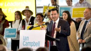 Ian Campbell, hereditary Chief of the Squamish Nation, is shown in a photo from Vision Vancouver.