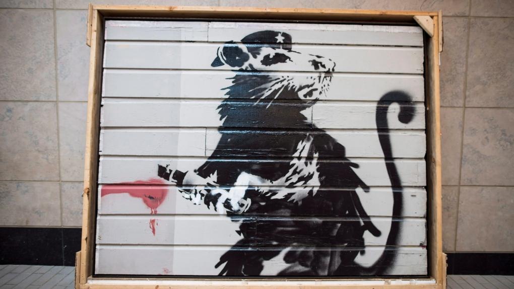 'Saving Banksy' Toronto exhibit