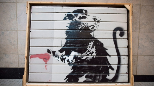 'Saving Banksy' Toronto exhibit