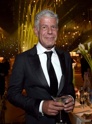 Anthony Bourdain attends the Governors Ball during night one of the Creative Arts Emmy Awards at the Microsoft Theater on Saturday, Sept. 9, 2017, in Los Angeles. (Photo by Richard Shotwell/Invision/AP)