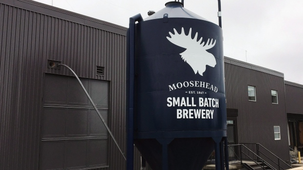 Moosehead small batch brewery