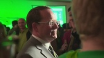 Inside Mike Schreiner's first day post-election