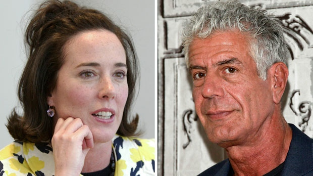 Kate Spade and Anthony Bourdain