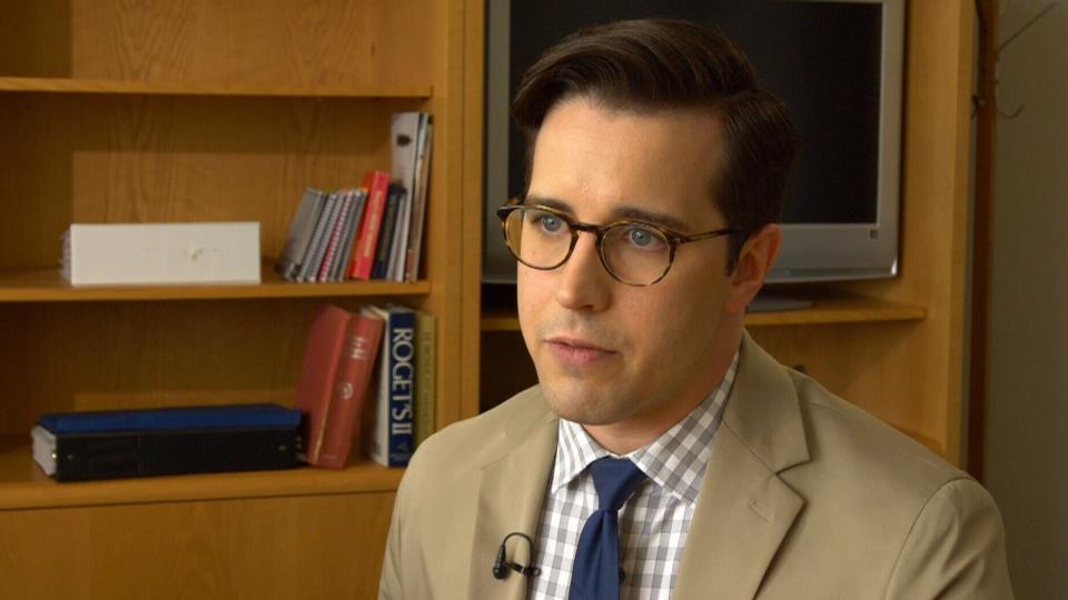 Canadian mental health advocate Mark Henick speaks to CTV News on June 8, 2018.