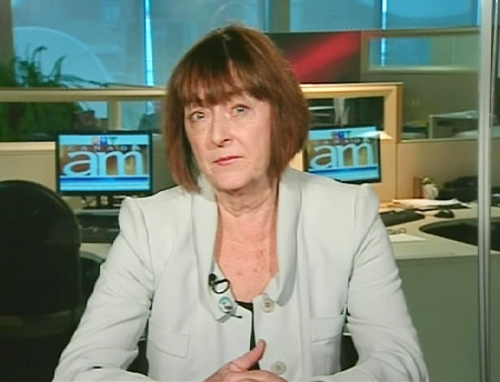 Margaret Somerville, McGill Centre for Medicine, Ethics and Law, speaks on Canada AM from CTV's studios in Montreal, Wednesday, June 10, 2009.