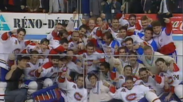 Little did everyone know that when the Montreal Canadiens beat the L.A. Kings in June of 1993, it would be the last time the team would hoist a Stanley Cup for a quarter century. (CTV Montreal)