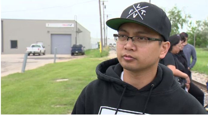Eduardo's son Edward has tirelessly been searching for his father since he went missing. (Source: Beth Macdonell/ CTV Winnipeg)