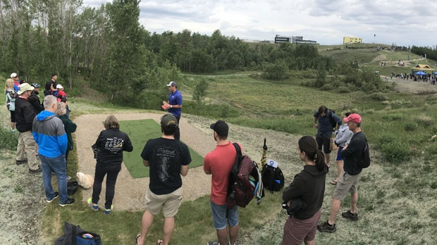 The David Richardson Memorial Disc Golf Park is a par-66 18-hole disc golf facility in Calgary's Royak Oak neighbourhood.