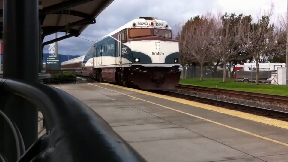 The current train connecting Vancouver and Seattle provides scenic views, but advocates want something faster.