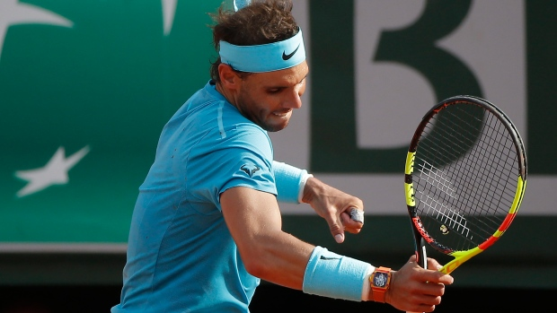 Same result, different day for French Open champion Rafael Nadal