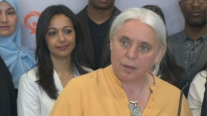 In the long run, Quebec Solidaire would like to see 18 per cent of public servants from cultural communities, and 13 per cent from visible minorities, Manon Massé said Sunday. (CTV Montreal)