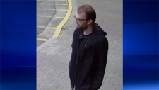 Barrie police released this image of Jesse Breese. He is wanted for attempted murder in connection with a shooting in Barrie, Ont.