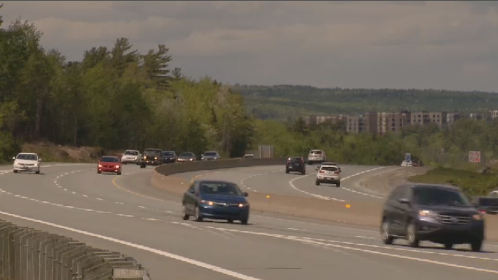 Halifax police look for suspect in highway hit and run