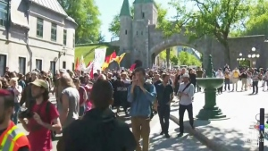 CTV Montreal: Smaller protests at G7