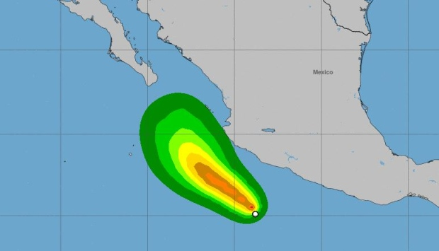 Hurricane Aletta grows to Category 4