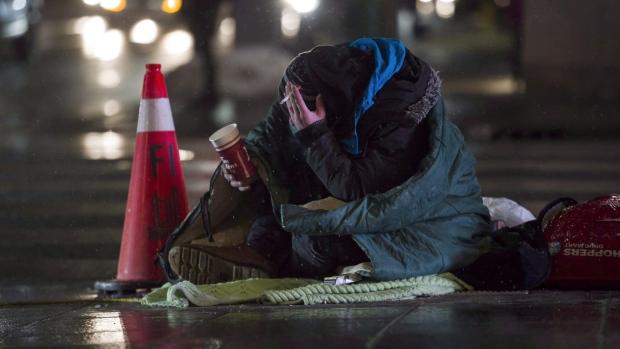 homeless,