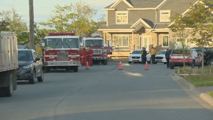 Some homes on Astral Drive and Beaver Crescent were evacuated June 10, 2018 as crews battled a forest fire near the Salt Marsh Trail in Cole Harbour, N.S.