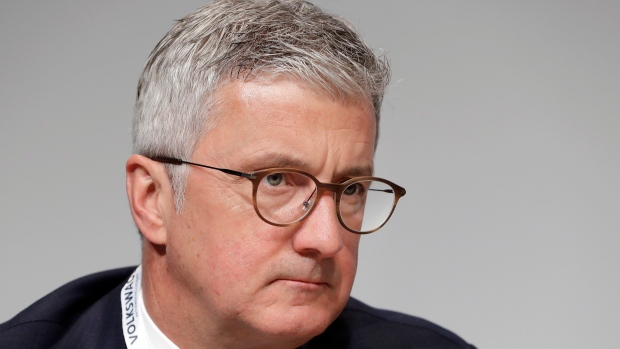Audi chief exec Rupert Stadler arrested