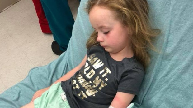 Mom shares warning on Facebook after tick bite hospitalizes daughter