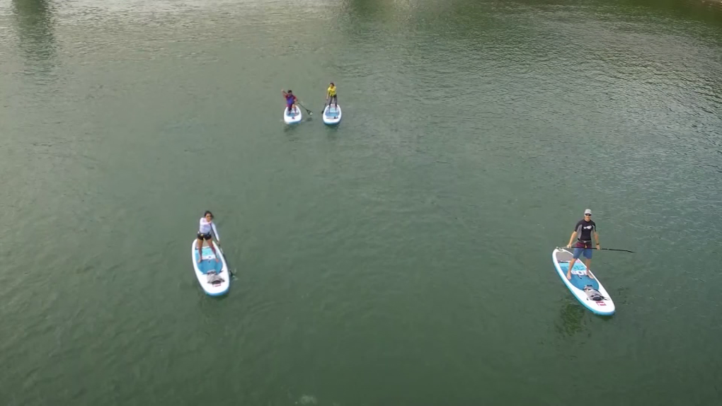 Paddleboarding popularity continues to grow