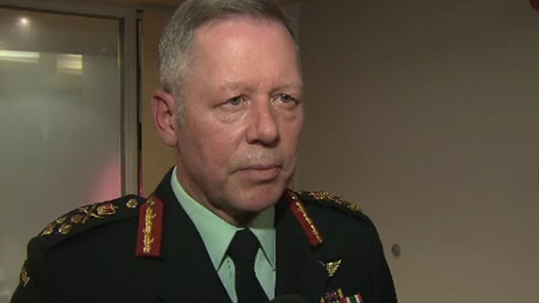 Gen. Jonathan Vance says Canada is unlikely to proceed with a plan to give weapons to Kurdish forces fighting Islamic State militants in Iraq.