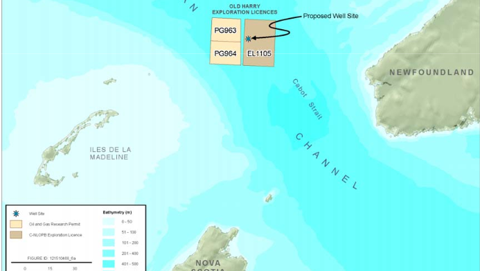 A judge quashed licence extension to Corridor Resources Inc. for drilling rights in the Old Harry site, located about 80 kilometres off the southwest tip of Newfoundland, because it went beyond the nine-year limit.