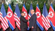 Kim meets Trump