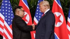 Trump meets Kim Jong Un