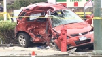 Alphonsus Hui was fatally struck by a driver doing 140 km/h in a 50 zone, his family says.