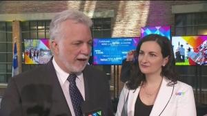 Couillard unveils plans for the province