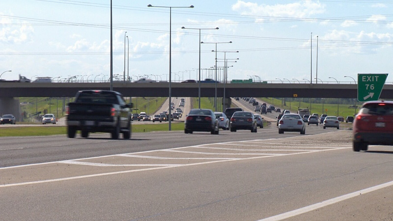 The southwest leg of the Anthony Henday Drive will be expanded from four to six lanes by 2022.