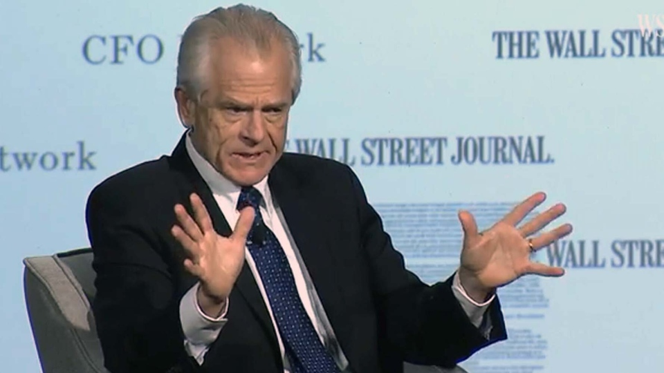 White House trade advisor Peter Navarro apologizes for comments directed towards Prime Minister Justin Trudeau. (WSJ-CFO Council)