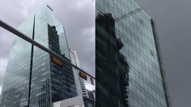 CTV News has learned 17 windows were damaged during the windstorm, and at least three of them have broken.