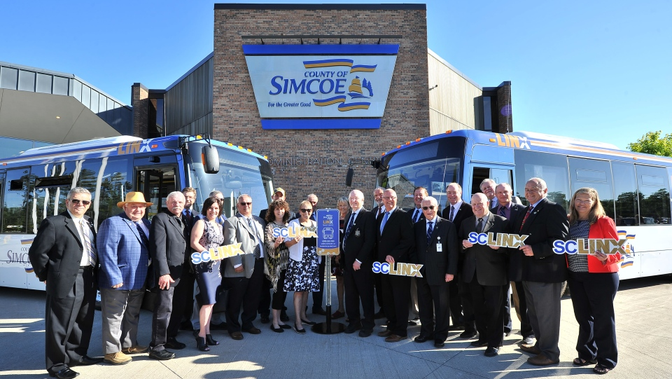 The County of Simcoe announced its LINX transit system will be up and running by August. (County of Simcoe)