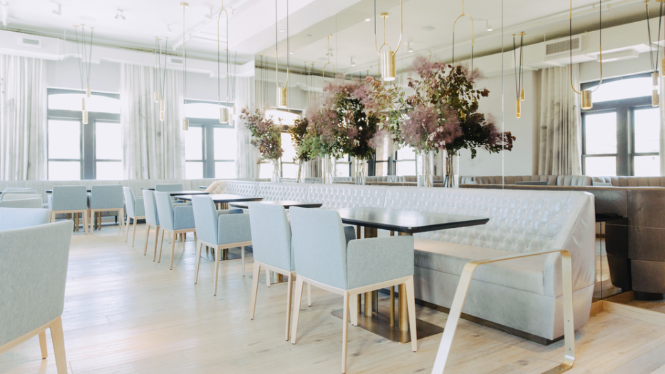 An inside look at Alo, a French eatery in Toronto ranked number 94 on the prestigious World's 100 Best Restaurants list. (Photo: Katherine Holland)