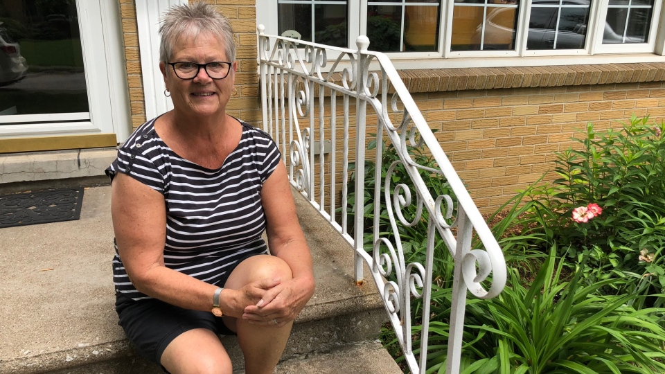 South Windsor resident Linda Naismith says basement flooding can be stressful, Tuesday, June 12, 2018. (Melanie Borrelli / CTV Windsor)